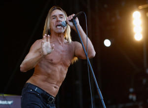 NEWPORT, ISLE OF WIGHT - JUNE 11: Iggy Pop and The Stooges performs live on the main stage during day two of the Isle of Wight Festival 2011 at Seaclose Park on June 11, 2011 in Newport, Isle of Wight. (Photo by Simone Joyner/Getty Images)